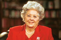 Betty Boothroyd - World Association of Girl Guides and Girl Scouts