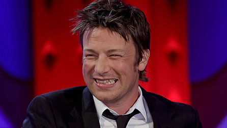 Jamie Oliver on Friday Night With Jonathan Ross (image: BBC/Hot Sauce)