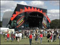 Leeds festival 2006, the stage