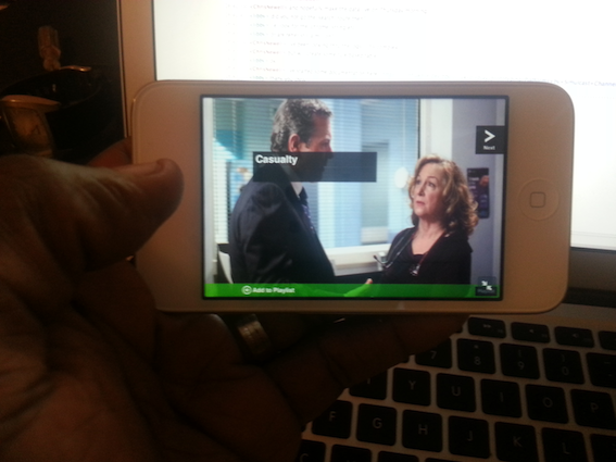 screenshot of vistatv clips on an Android phone