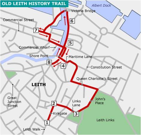 Leith Scotland Map.Bbc Scotland Coast