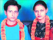 Haryana couple Manoj and Babli were killed in 2007 (Photo: Shakti Vahini)