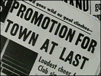 Headlines in the Swindon Echo in 1963