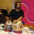 Karsh Kale on the tabla.