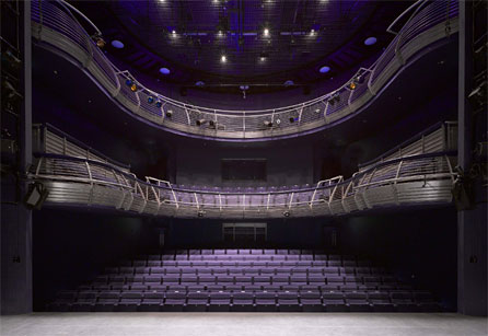 The interior of the Richard Burton Theatre. Photo: Nick Guttridge/BFLS
