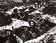 Image of Irish soldiers in the trenches