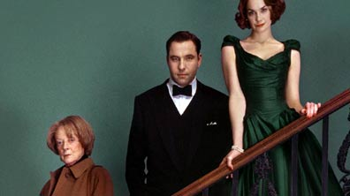 Dame Maggie Smith, David Walliams and Ruth Wilson