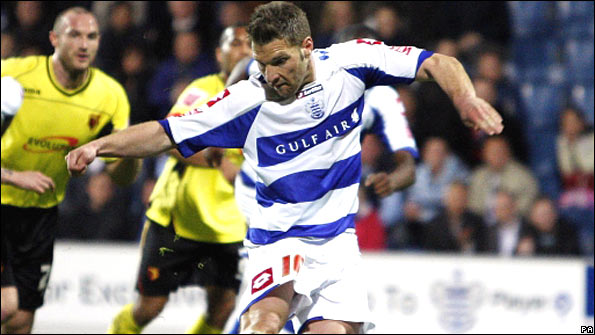 Akos Buzsaky scores for QPR against Watford