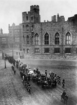The funeral cortege of Victoria (Getty Images/Hulton|Archive)