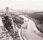 A photo of the Clifton Suspension Bridge that crosses the River Avon in Bristol. It was completed in 1864 after the death of Brunel.