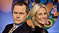 Team captains Jack Dee and Ulrika Jonsson take part in more mayhem