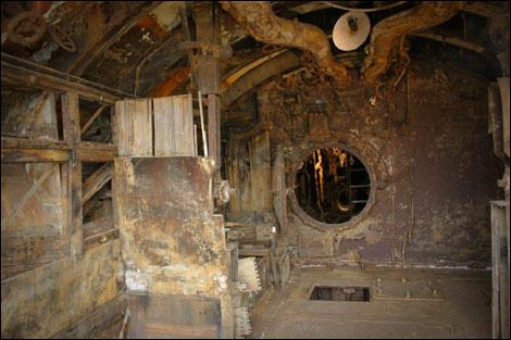 u boat interior  Inside U-534, the U-Boat