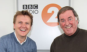 Aled Jones and Terry Wogan (photographer: Mark Mawston)