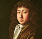 A portrait of Samuel Pepys, painted at the time of the Great Fire, by John Hayls.