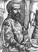 c.1540, Andreas Vesalius, Flemish anatomist and doctor