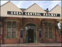 Great Central Railway entrance