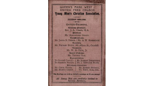 BBC - A History of the World - Object : 1905 YMCA Membership