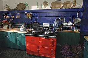 Blue Country Kitchen Kitchens E 520360510 Inspiration