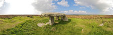 Lanyon Quoit, near Penzance in west Cornwall