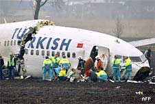 The crash at Schiphol (afp)