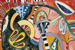 Gillian Ayres Saana Sunlight 2006