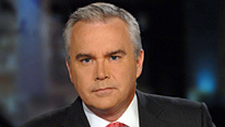 Huw Edwards reports live from the Commonwealth Games Closing Ceremony