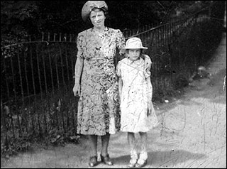 Ena Barker and her mother during the Second World War Years