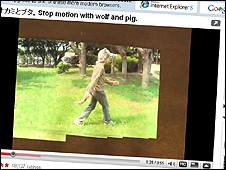 Stop Motion with Wolf and Pig on YouTube
