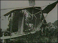 The Cody Flyer after the first flight