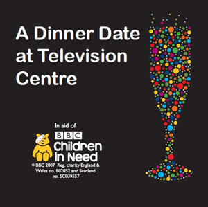 Children in Need evening poster