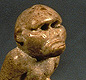 Toys like this monkey were cleverly made to climb ropes or nod their heads. <!-- Copyright J.M. Kenoyer/Harappa.com, Courtesy Dept. of Archaeology and Museums, Govt. of Pakistan -->
