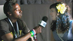 Ras Kwame chats to Louise Golbey backstage at Glastonbury 2009