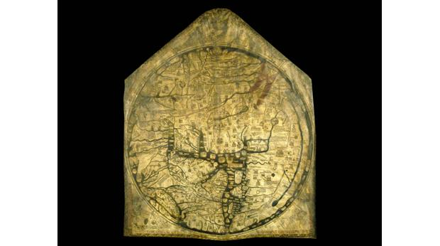 Mappa Mundi, Hereford Cathedral
