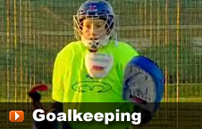 player goal keeping