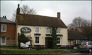 The Blue Boar, Aldbourne (image copyright Peter Thurston)