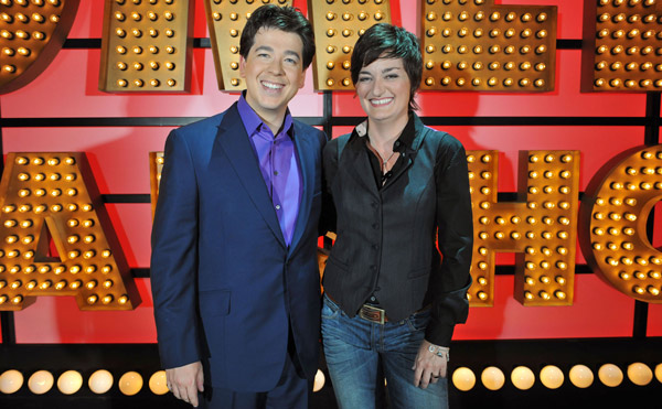 Michael McIntyre and Zoe Lyons