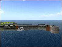 Skinningrove Jetty on Second Life