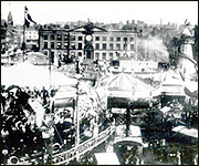 Goose Fair on Old Market Square c.1906