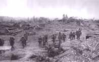 Photo of 16th (Irish) and 36th (Ulster) Divisions at Messines Ridge, 1917