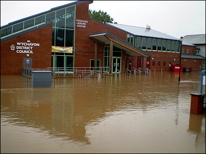 Bbc Hereford And Worcester In Pictures Worcestershire Floods 07 Photos