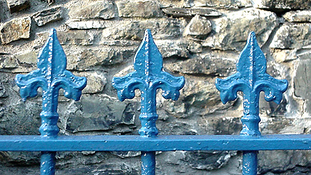Chapel railings