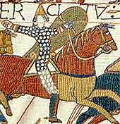 Image of knights at Battle of Hastings