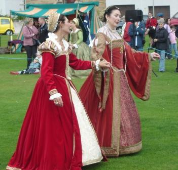 Historic dancers in Nairn