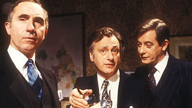 Humphrey, Jim and Bernard from Yes Minister