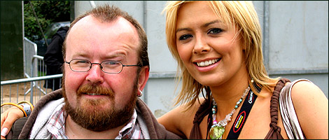 Ian Carroll with BB6's Orlaith