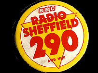Radio Sheffield badge, 1960s-70s