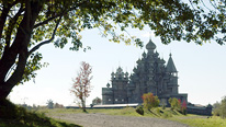 Churches of the Intercession and the Transfiguration, Kizhi Island, Russia © BBC
