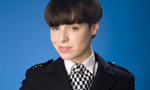 Ashes To Ashes: WPC Shaz Granger (Montserrat Lombard)