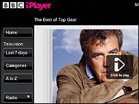 Top Gear on the iPlayer