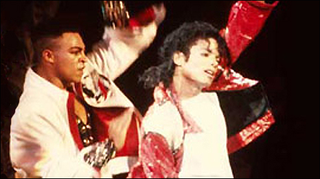 choreographer Lavelle Smith Junior dancing with Michael Jackson